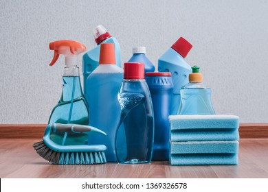 cleaning products. housework. spring cleaning.