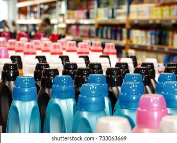 cleaning products in the market section