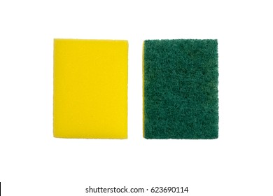 Cleaning sponge.