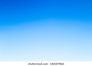 Clear blue sky for background. blue background