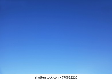 the clear blue sky without clouds. A natural background for images
