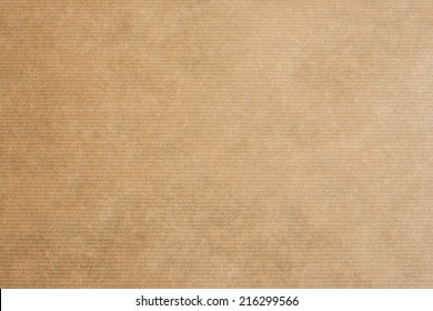 clear brown striped kraft paper texture or background