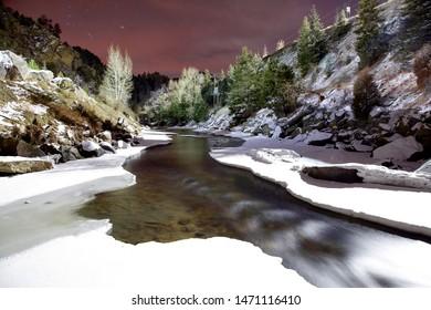 Clear Creek in Jefferson County, Colorado