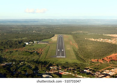 Clear Day Landing at Montes Claros Airport, Brazil