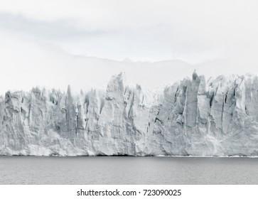 Clear Glacier iceberg, Perito Moreno, Patagonia, Argentina, South America