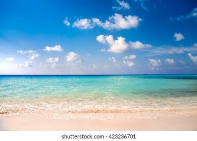 clear ocean water under blue sky