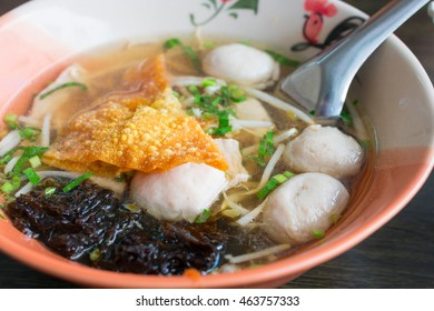 Clear Pork balls soup, Asian cuisine, Soup with meat ball
