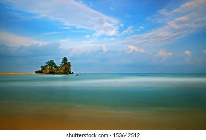 Clear - A scenery of a beach in Terengganu, Malaysia