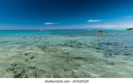 clear, sea scape