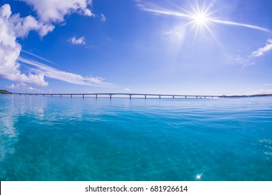 Clear Sea and Sky