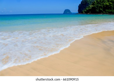 Clear sea White sand beach