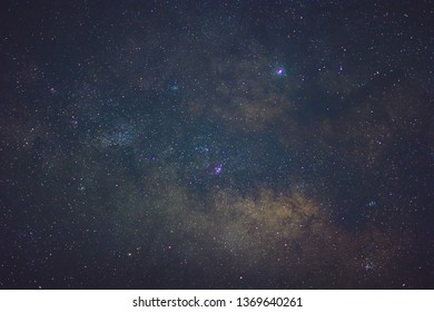 Clear shot of the Galactic center of Milky Way Galaxy.