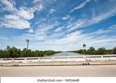 clear sky thailand bridge