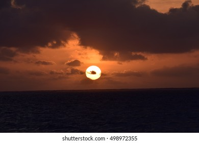 Clear Sunrise on the Ocean