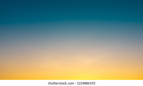 clear sunset in the sky for background design and graphic resources