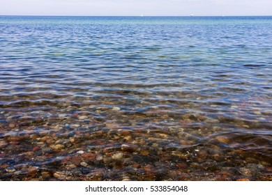 clear water of the baltic sea