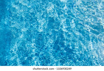 Clear water at the pool