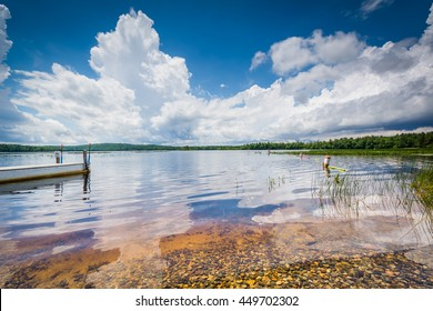 The clear waters of Massabesic Lake, in Auburn, New Hampshire.