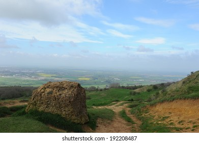 Cleeve Common on Cleeve Hill in the heart of the Cotswolds.  It is a biological and geological site of special scientific interest.