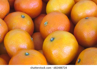clementines oranges in a basket at the market fresh organic fruits diet