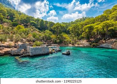 Cleopatra Bath Bay in Turkey