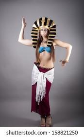 cleopatra. dance like a egyptian