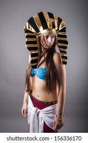 cleopatra. the queen of egypt.