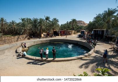 Cleopatra spring Siwa oasis Egypt