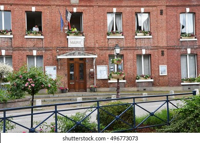 Cleres, France - june 23 2016 : the city hall
