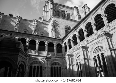 Clergy building in Salamanca Spain