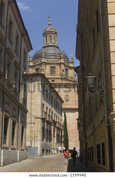 The Clergy (La Clerecia) or Royal College of the Holy Spirit and Pontifical University in Salamanca, Spain