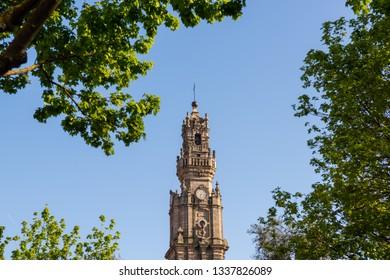Clerigos Tower (Torre dos Clerigos) in Porto, Portugal