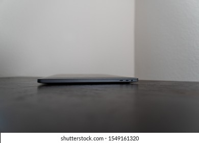 """""""Clermont, FL / USA - 10/30/2019: Apple Macbook Pro 15 inch 2017 model with touch bar."""""""