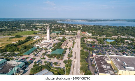 """""""Clermont, FL / USA - 9/4/2019: Scenic view from a top the Florida Citrus Tower."""""""