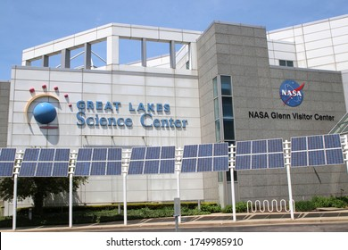 Cleveland, Ohio May 17, 2020 Great Lakes Science Center and NASA Glenn Visitor Center.