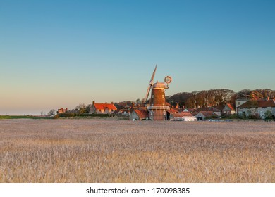 Cley next the Sea windmill in North Norfolk