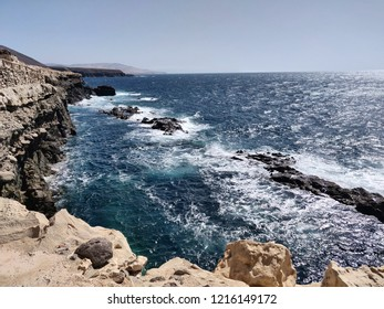 Cliff in Fuerteventura