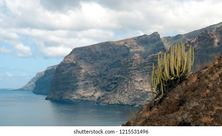 Cliff of the giants on the island of Tenerife
