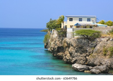 Cliff house in Curacao