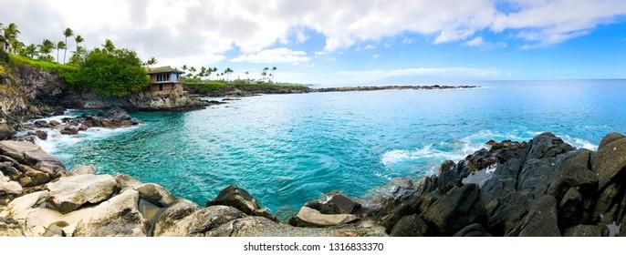 Cliff Jumping Secret Beach Maui Island