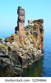 Cliff on Bornholm