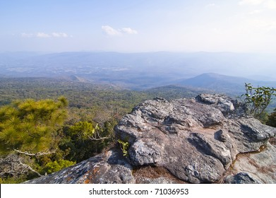 Cliff on mountain at Phukradueng