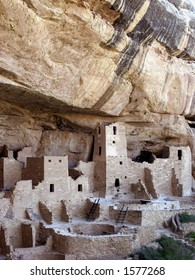 Cliff Palace, Anasazi Cliff Dwelling, Mesa Verde National Park, Colorado