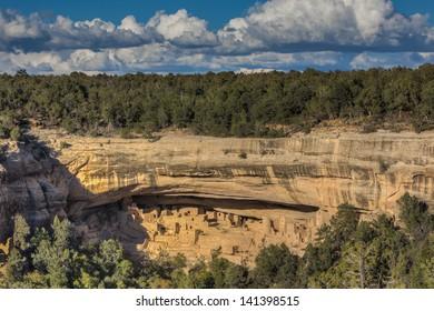 Cliff Palace Anasazi Indian Ruins, Mesa Verde National Park, Colorado