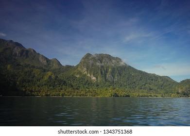Cliff of Sawai, Saleman, Seram Island, Maluku, Indonesia