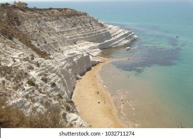 cliff of scala dei turchi