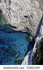 Cliff and sea / Zakynthos - Zante / Greece , ,