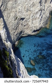 Cliff and sea / Zakynthos - Zante / Greece