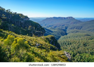 cliff view lookout, blue mountains national park, katoomba, new south wales, australia