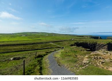 Cliff Walk Kilkee, County Clare, Ireland, August 2018